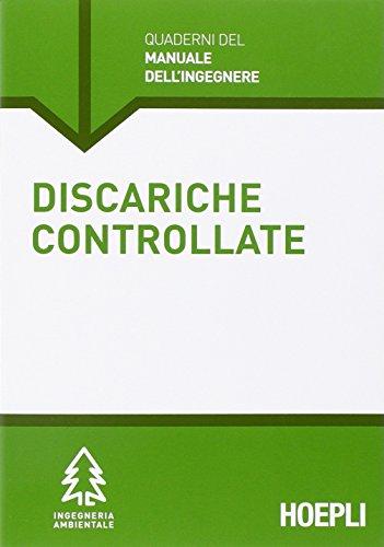 Discariche controllate. Sezione Ingegneria ambientale