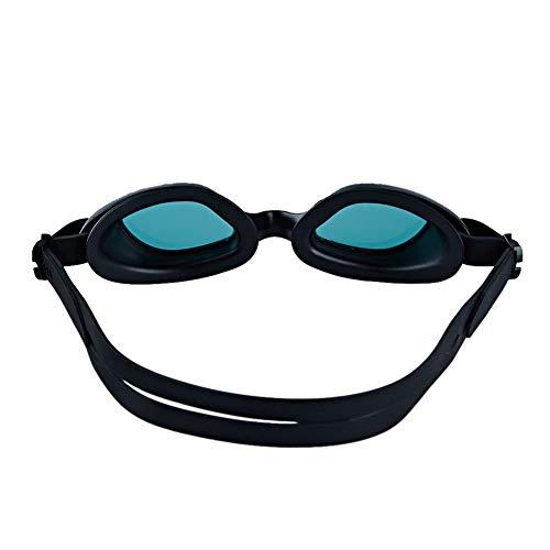 Metermall Home Professionele zwembril PC Anti-condens HD waterdichte siliconen zwembril