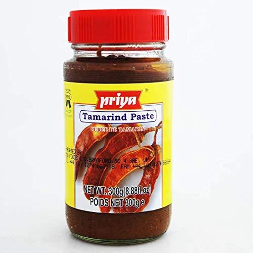 Priya Tamarind Paste für Thai-Nudeln und indische Hühnchengerichte - 300g Glas