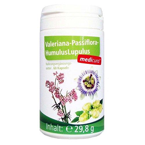 Medicura Valeriana-Passiflora 60 Kapseln - 29.8 g