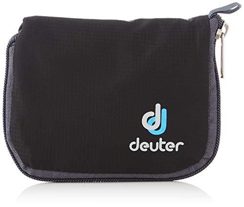 Deuter Zip Wallet, Cartera con Cremallera Unisex Adulto, Negro (Black), 24x36x45 cm (W x H x L)