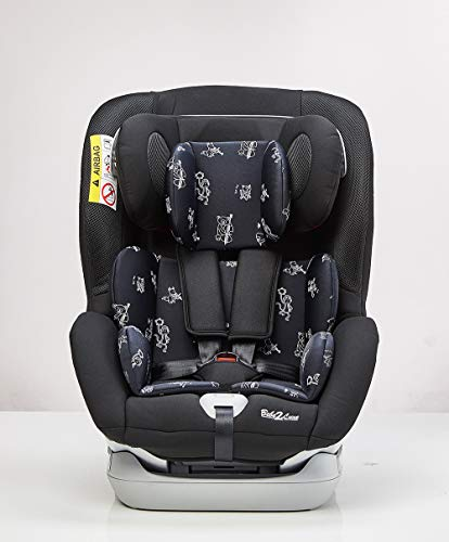 Siège Auto Bebe2luxe Cocoon II ISOFIX Groupe 1,2,3 : 9-36 kg - (SPS) + Toptether (noir)