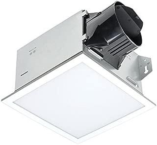 Delta BreezIntegrity ITG100ELED 100 CFM Exhaust Bath Fan/Dimmable Edge-lit LED Light