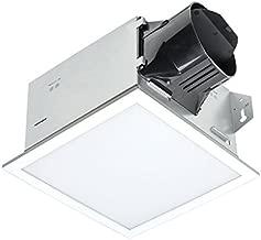 Delta BreezIntegrity ITG100ELED 100 CFM Exhaust Bath Fan with Edge-Lit Dimmable LED Light