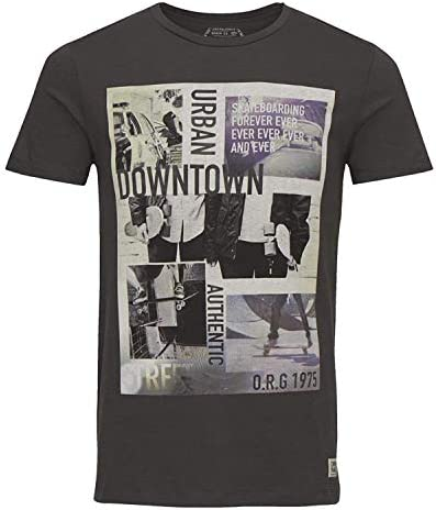JACK & JONES Camiseta Manga Corta Hombre Original JJ o Skater