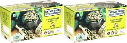 CHANCHARU Instant Green Coffee Beans Powder for Weight Management Box Lime (30 sachets, 3g Each) (2)