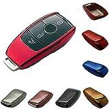 LED-Mafia Schutzhülle - PKW Schlüssel - Hochglanz Lack - Kunststoff Hülle - Auto H (rot)