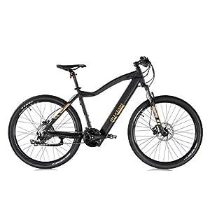 Allegro Invisible Dialm E-Bike Mountainbike Herren 27,5 Zoll, E-MTB, Elektro Mountenbike E-Bike, Schwarz