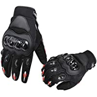 AmazonBasics Motorbike Powersports Racing Gloves