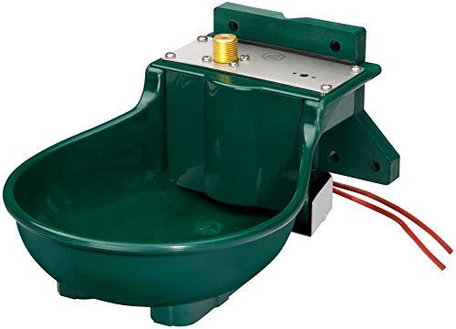 Lister Heizbares Tränkebecken SB 112 ZPS mit Heizkabel 230 Volt / 45 Watt (Frostschutz bis ca. -25°C) - mit Schwimmerventil 230 Volt - Tränke Kuh Kühe Rinder Pferd Pferde Stall
