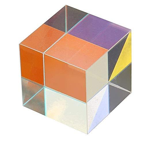 PULABOX-Cube Prisma Fsica Herramientas de Enseanza DIY Decoracin Ciencia Educacin Juguete Respetuoso con el medio ambiente y duradero