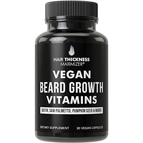 Beard Growth Pills for Men. Vegan B…