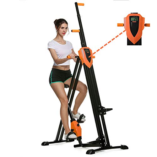 Flyerstoy Vertical Climber Cardio Exercise - Folding Exercise Climbing Machine,Total Body Workout...