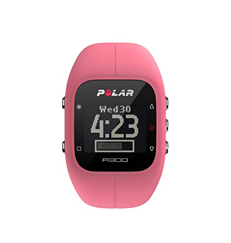 Polar A300 Fitness Tracker and Activity Monitor with Heart Rate (Pink)