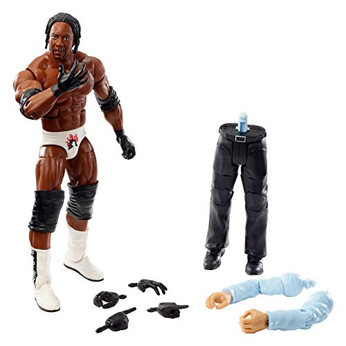 WWE Elite Collection Booker T Wrestlemania 19 Action Figure, Multi