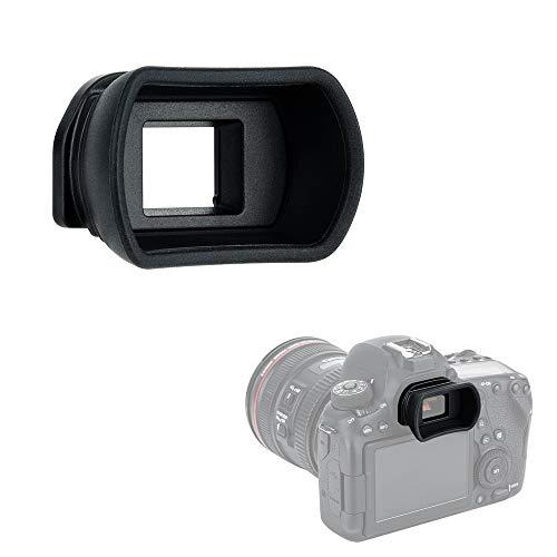 Kiwifotos Long Soft Viewfinder Eyecup Eyepiece for Canon EOS 90D 80D 70D 60D 77D 6D Mark II 5D Mark II Rebel T7 T6 T5 T100 T8i T7i T6s T6i T5i T4i T3i T2i T1i SL3 SL2 SL1 4000D 50D 40D 30D and More -  EF
