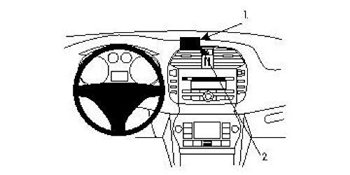 Brodit ProClip 854074 Staffa per Auto ad Incastro, Angled Mount