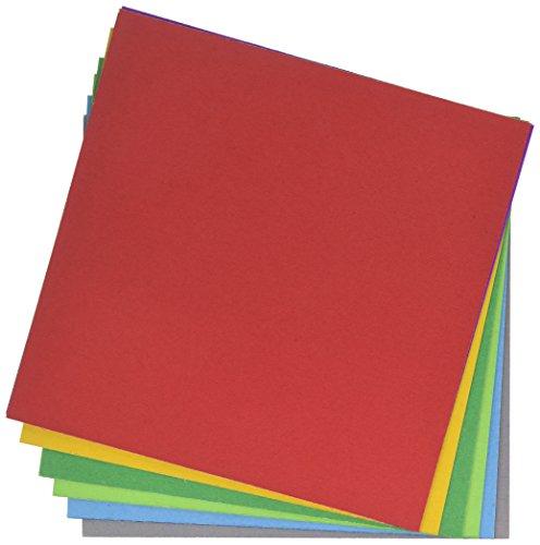 Polaroid 9 Farben Karton Papier Pack (54 Stück) - 20,3 cm x 20,3 cm Farbseiten für Scrapbook, Grußkarten, Kunst und Handwerk für 2x3 Fotopapier Projekte (Mint, Snap, Zip, Z2300)