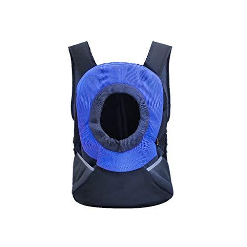 JXLBB Pet Out Sac À Dos Portable Sac À Dos Chat Chat Sac Teddy Chien Dos Sac À Chien Voyage À Emporter (Color : Blue)