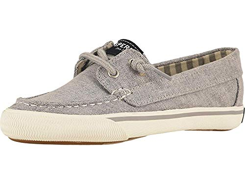 Sperry Kids Girl's Lounge Away (Little Kid/Big Kid) Silver Sparkle 1 Little Kid