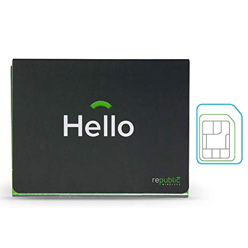 Republic Wireless SIM Card Kit With 3-in-1 SIM for No Contract Cell Phone Service – Bring Your Own Compatible Android…