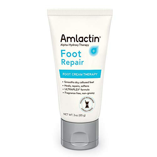 AmLactin Alpha-Hydroxy Therapy Foot Cream to Heal, Repair, Soften Dry, Callused Skin on Feet
