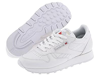 Reebok Lifestyle Classic Leather (White) Women