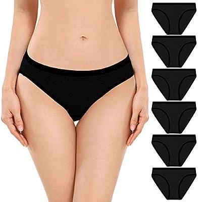 Amazon - 60% Off on Women's Underwear, Cotton Low Rise Stretch Bikini Hipster