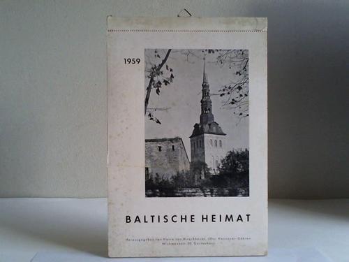 Baltische Heimat. Kalender von 1959