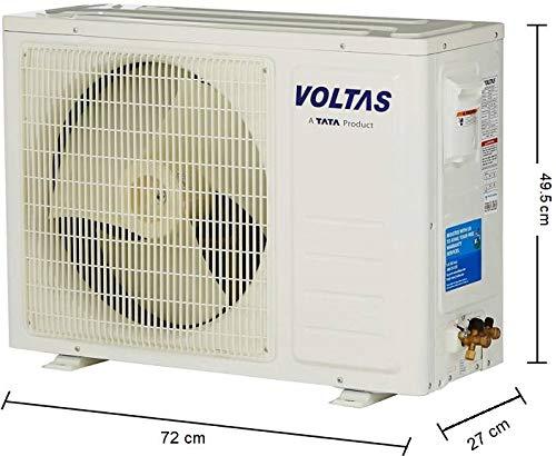 Voltas 1 Ton 3 Star Inverter Split AC (Copper 123VCZTT White)