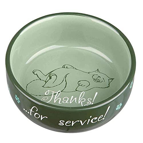 Trixie Ciotola per gatti Grazie per il servizio, ceramica
