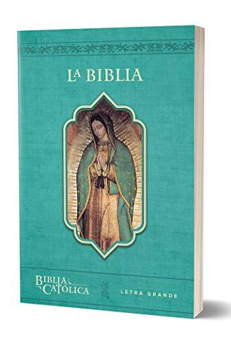 Compare Textbook Prices for La Biblia Católica: Tamaño grande, Edición letra grande. Rústica, azul, con Virgen Spanish Edition Large type / Large print Edition ISBN 9781949061949 by Biblia de América