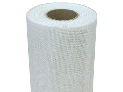 Rete Zanzariera in Fibra di Vetro BIANCA maglia 18x16 in rotoli da 30 metri di ottima qualità Ideale per la realizzazione di zanzariere a telaio fisso (H: 80 cm x 30 metri)