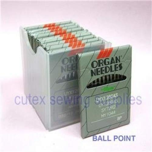 Great Deal! 100 Organ UYX128GAS / UY128GAS Ball-Point Industrial CoverStitch Machine Needles (Size 1...
