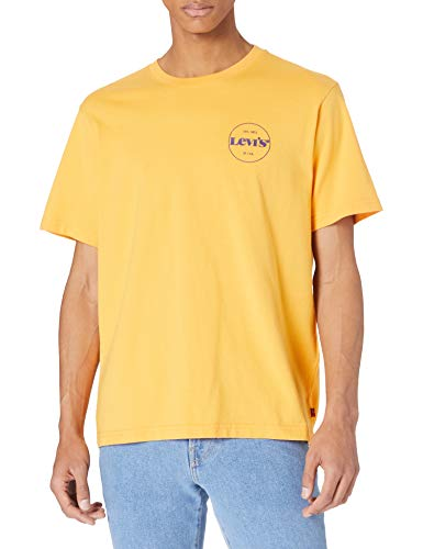 Levi's SS Relaxed Fit tee Camiseta, Ssnl Mv Logo Kumquat, S para...