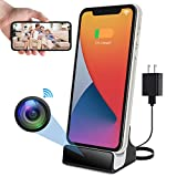 LIZVIE Spy Camera Hidden Cameras Espias Ocultas 1080P Small Nanny Cam USB Charger for iPhone Micro WiFi Secret Stealth Camera Mini Video Recording for Home Security Surveillance (for iPhone Charger)