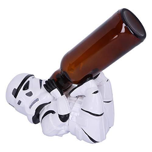 Nemesis Now Original Stormtrooper Sci-Fi Weinflaschenhalter Figur weiß, One Size