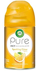 Air Wick Pure Freshmatic Refill Automatic Spray, Sparkling Citrus, 5.89 Oz, Air Freshener, Essential Oil, Odor Neutralization, Packaging May Vary