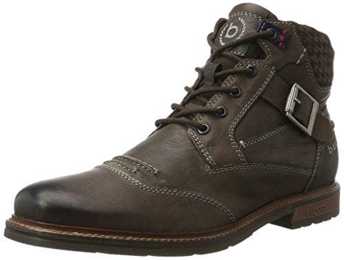 bugatti Herren 321344323200 Klassische Stiefel Kurzschaft Stiefel , Grau , 42 EU