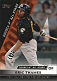 new hampshire fisher cats - 2011 Topps Pro Debut Double-A All Stars #DA7 Eric Thames New Hampshire Fisher Cats MLB Baseball Card NM-MT