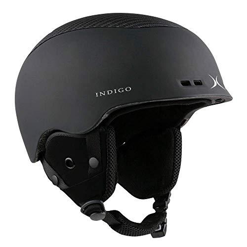 Indigo Helm Free Carbon | Schwarz | Ski & Snowboard Helm
