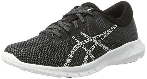 Asics Nitrofuze 2, Zapatillas de Entrenamiento para Mujer, Multicolor (Black/Glacier Grey/Carbon), 36 EU