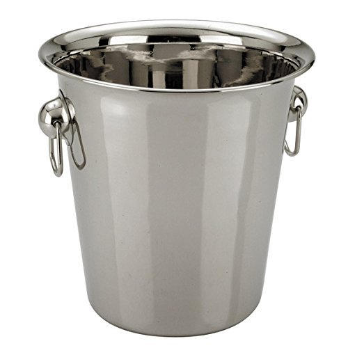 Zodiac Champagne Wine Ice Bucket 5 Litre in High Polished Stainless Steel