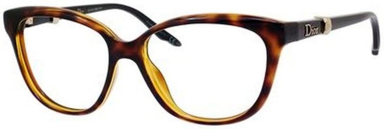 Dior 3231 Havana Black Eyeglasses