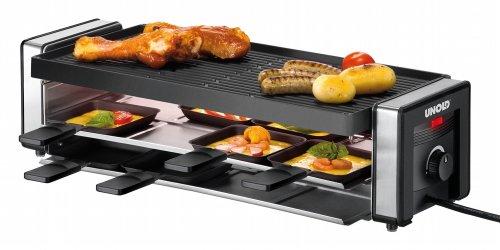 Unold 48735 Raclette Finesse / 1100 Watt / 8 Pfännchen