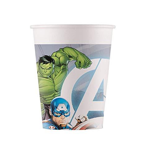 Procos- Marvel Avengers - Taza, diseño de Los Vengadores, Color carbón, Talla única (10201205)