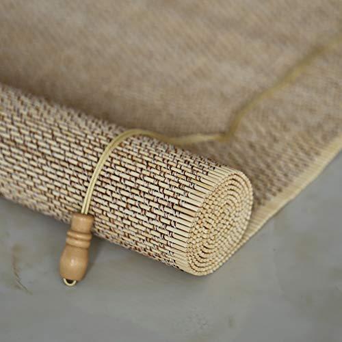Outech Persiana de Bambú para Interior, Estor Enrollable Naturales Sombra, Cortina de Madera para Patio, Amplia 120/150/180cm