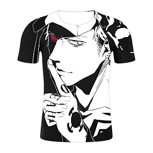 Regalos para Ingenieros,Una Pieza 3D impreSión Digital Casual Camiseta de Manga Corta para hombreS-Xt457_S