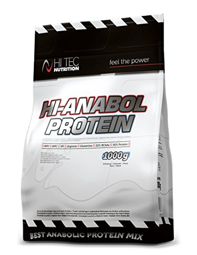 Hi Tec Nutrition-Hi Anabol Protein 1000g, whey protein- Isolat- whey concentrate-SPI, whey protein – BCAA Glutamine.