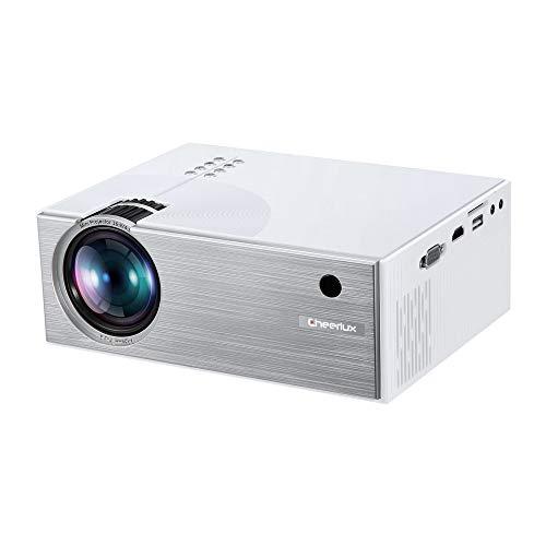 Hoogwaardige projector van Dell, 90 inch scherm, draagbare projector voor multimedia, heldere kleuren